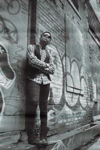 Detroit alley