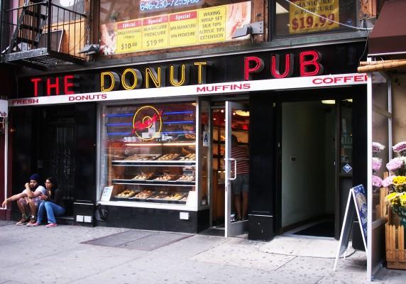 Donut Pub, Manhattan, 2013