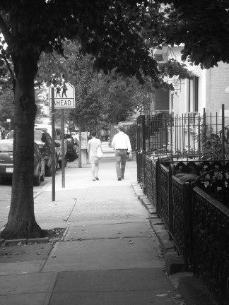 Pedestrians, Brooklyn, 2010