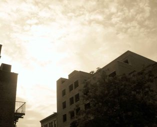 Clouds, Ralph Avenue, Bushwick, 2010