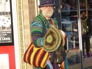 hat merchant on East Liberty