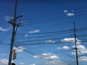 Telephone Wires, Farmington Hills, 2011