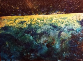 """Starscape"" (2014) by Sanda Cook."