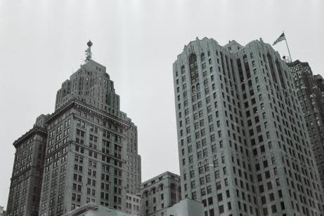 Downtown Detroit, 2016