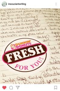 Dunkin sticker 2